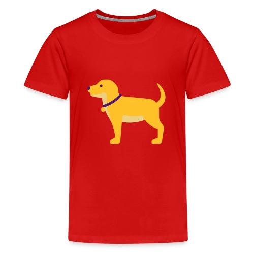 Hund Halsband Süß - Teenager Premium T-Shirt