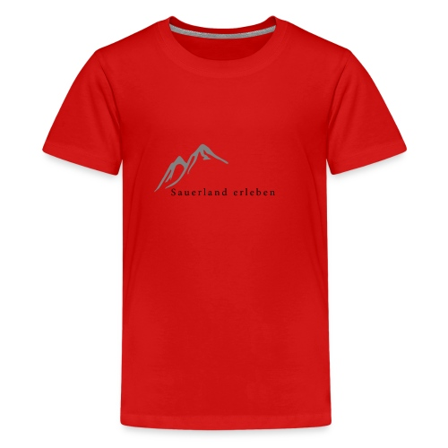 sauerland erleben - Teenager Premium T-Shirt
