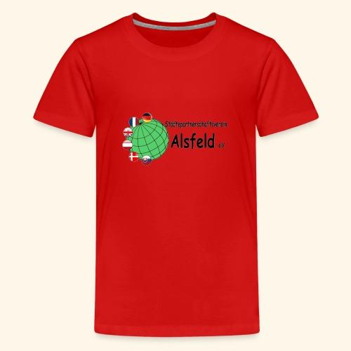 Städtepartnerschaft Alsfeld - Teenager Premium T-Shirt