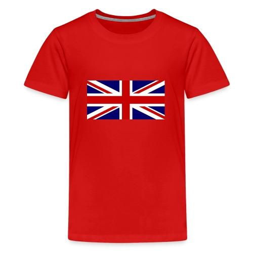drapeau anglais - T-shirt Premium Ado