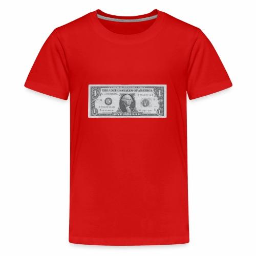 1 Dollar Note - Teenager Premium T-Shirt