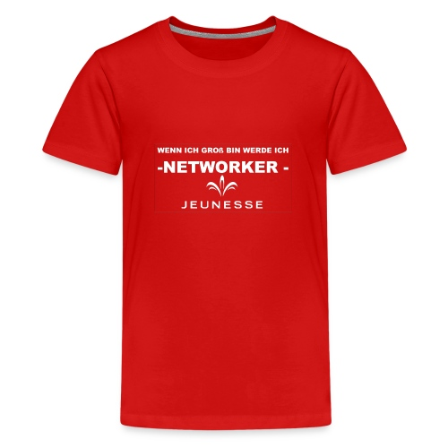 WENN ICH GROß BIN - Teenager Premium T-Shirt