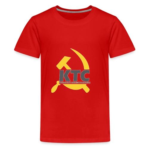 kto communism shirt - Premium-T-shirt tonåring