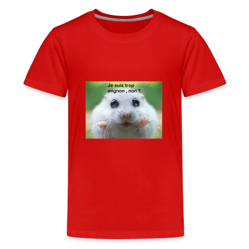Animal trop mignon - T-shirt Premium Ado