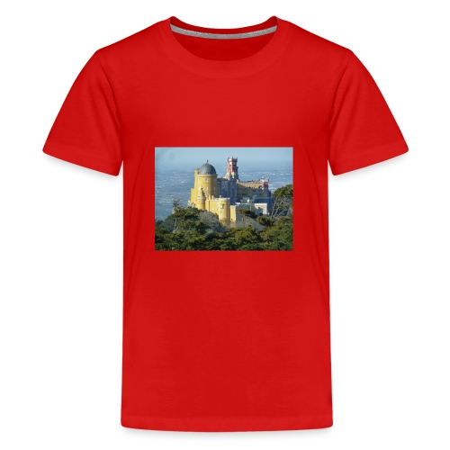 Schloss - Teenager Premium T-Shirt