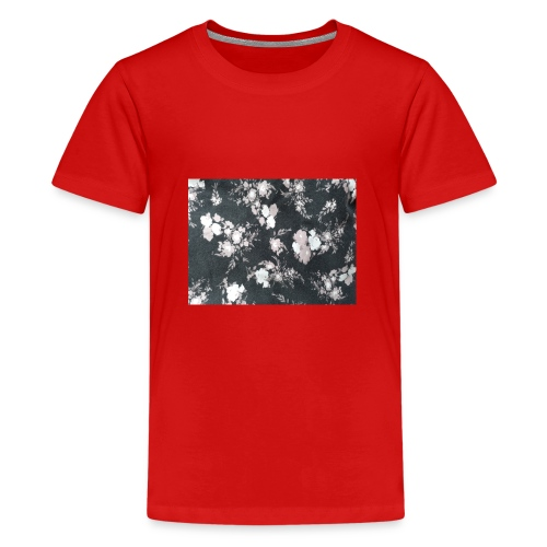 Dark Flowers - Teenager Premium T-Shirt