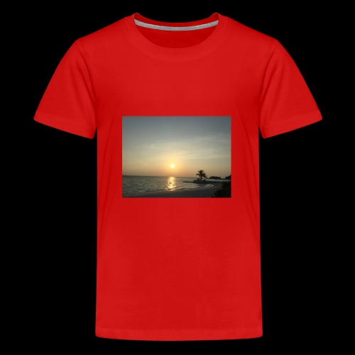 Sunset clothes - Teenage Premium T-Shirt