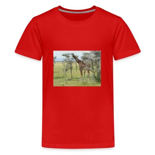Giraff - Premium-T-shirt tonåring
