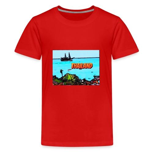 Thailand Pirat - Teenager Premium T-Shirt