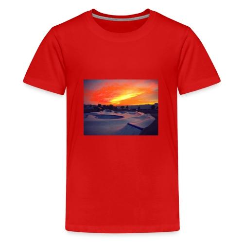 Skate park chill - Camiseta premium adolescente