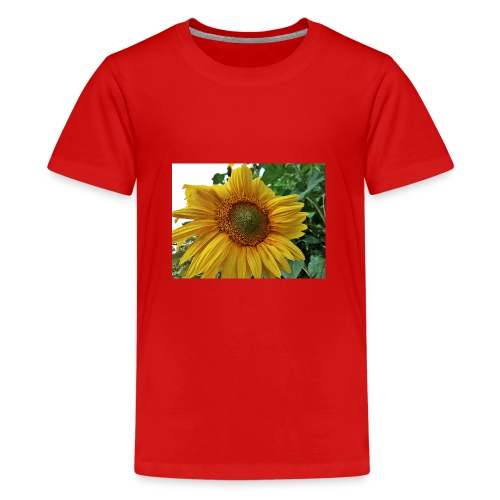 Sonnenblume - Teenager Premium T-Shirt