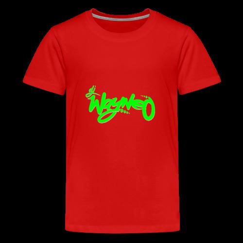 Wayneo Logo - Teenage Premium T-Shirt