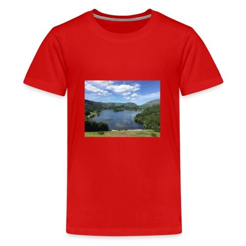 Summer in The Lakes - Teenage Premium T-Shirt