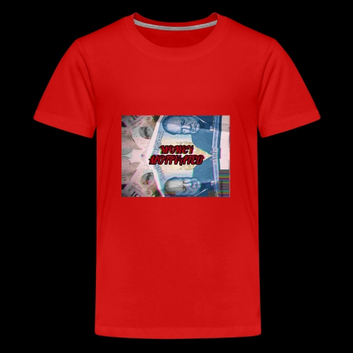 MONEY MOTIVATED - Teenage Premium T-Shirt