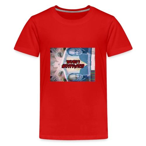 MONEY MOTIVATED - Teenage Premium T-Shirt