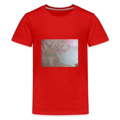 Monster hasi - Teenager Premium T-Shirt
