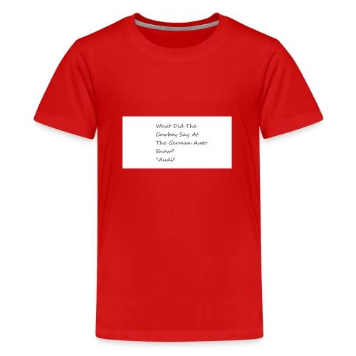 Car Joke - Teenage Premium T-Shirt