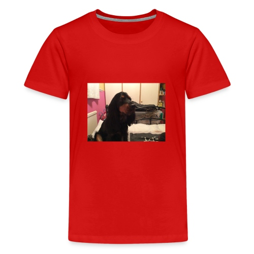 HarleyTheDog - Teenage Premium T-Shirt