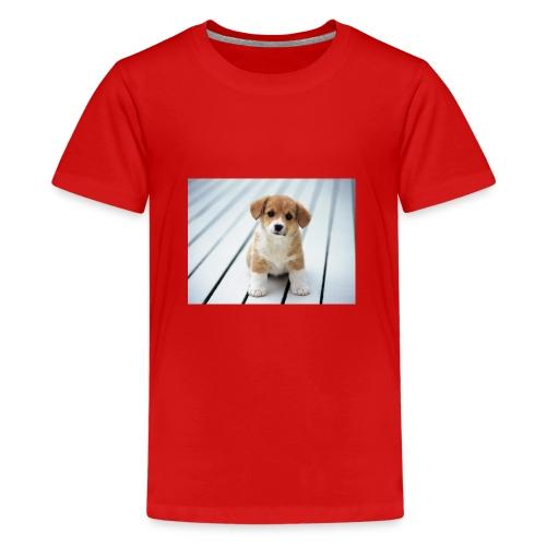 Baby dog Merchindise - Teenage Premium T-Shirt