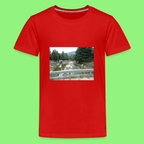 Fluss China 1400xX - Teenager Premium T-Shirt