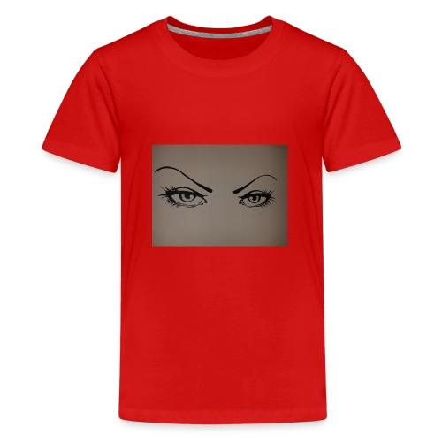 Augen - Teenager Premium T-Shirt
