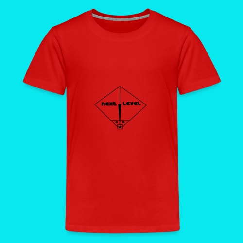 DWK3RUN Next level frame - Teenager Premium T-Shirt