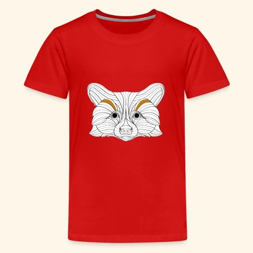 Der Fuchs - Teenager Premium T-Shirt