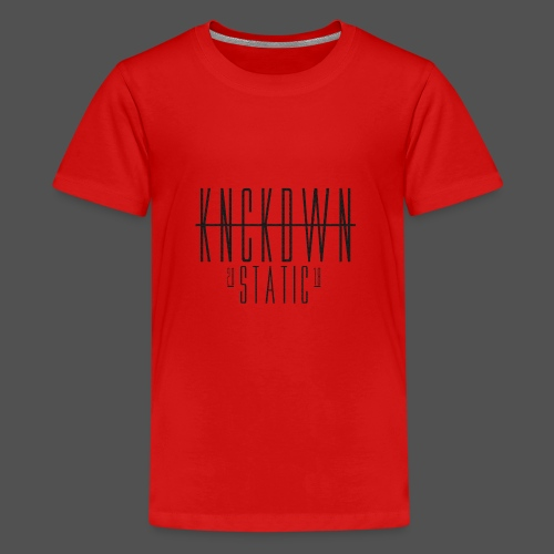 KNCKDWN static 2018 - Teenager Premium T-Shirt
