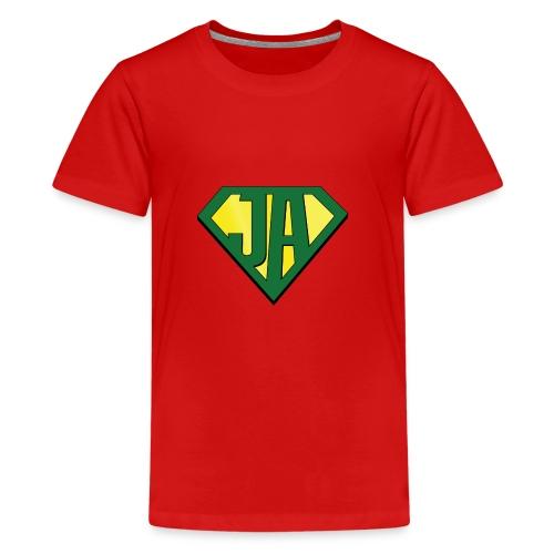 JA super hero - Teenage Premium T-Shirt
