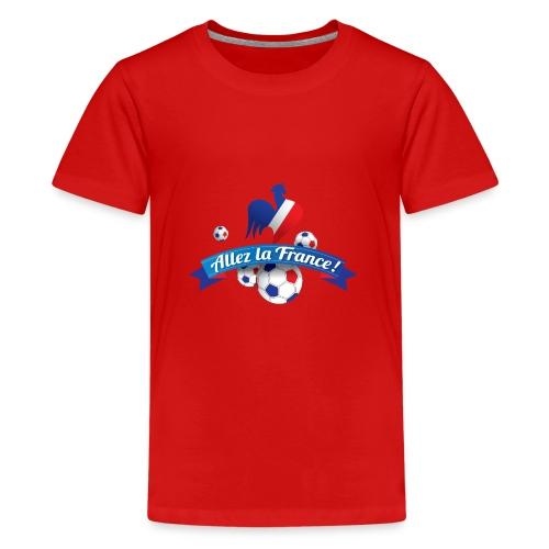 Allez la France - T-shirt Premium Ado