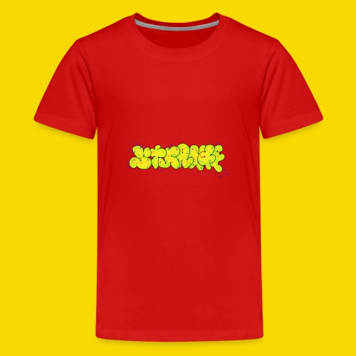 Strange Graffiti - Koszulka młodzieżowa Premium