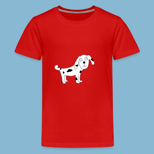 Hund Leo der treue - Teenager Premium T-Shirt