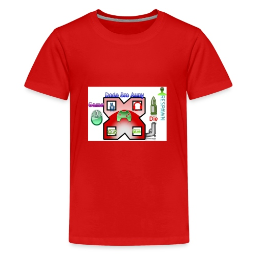 dodo logo - Teenage Premium T-Shirt