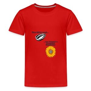One little seed - Teenage Premium T-Shirt