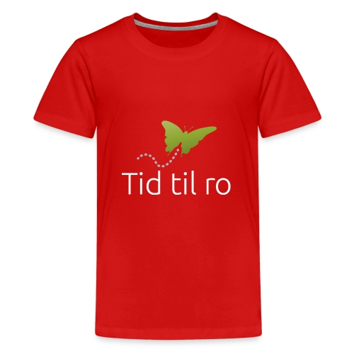 Tid til ro - Teenager premium T-shirt