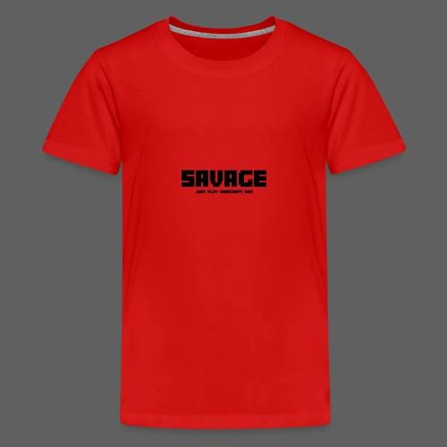 SAVAGE GAMER T-Shirt (kinderen) - Teenager Premium T-shirt