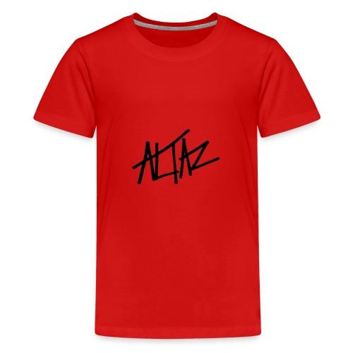 Altaz Clean Logo - Premium-T-shirt tonåring