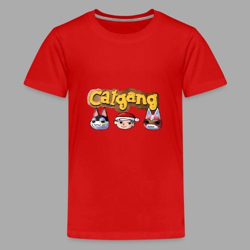 Animal Crossing CatGang - Teenager Premium T-Shirt