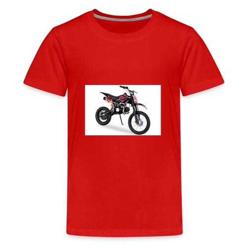 Crossbike JC125 cc Schwarz 48422D31323 - Teenager Premium T-Shirt