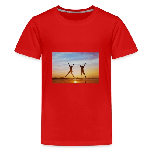 holadays - Teenage Premium T-Shirt