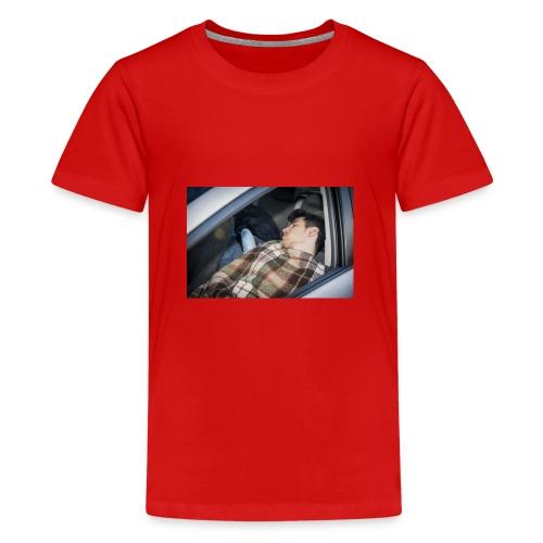 Schlafender Schneider - Teenager Premium T-Shirt