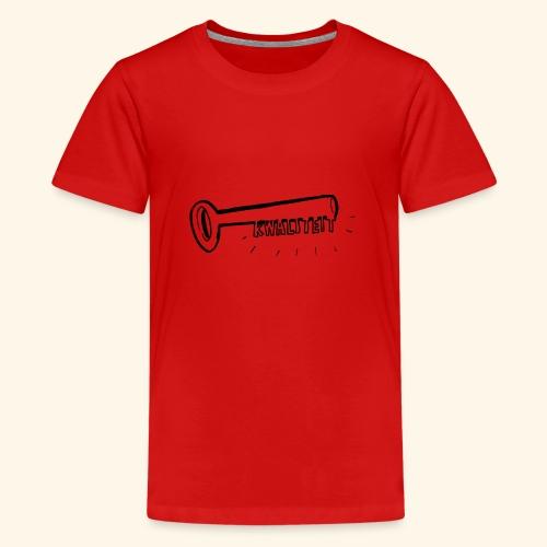 Kwaliteit sleutel transparant - Teenager Premium T-shirt