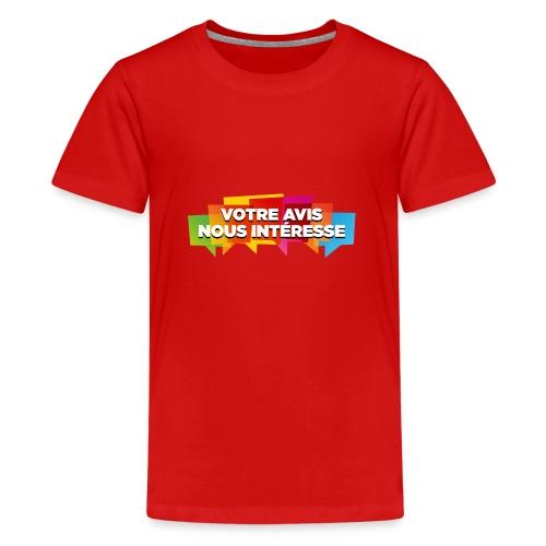 DocZslogan - T-shirt Premium Ado
