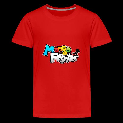 MangaFighter - Logo Desing - Teenager Premium T-shirt