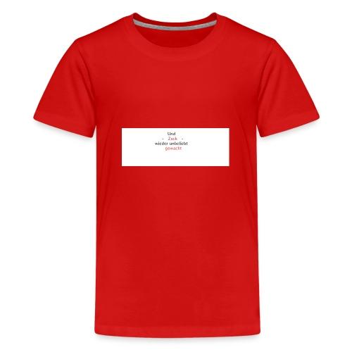 zack unbeliebt - Teenager Premium T-Shirt