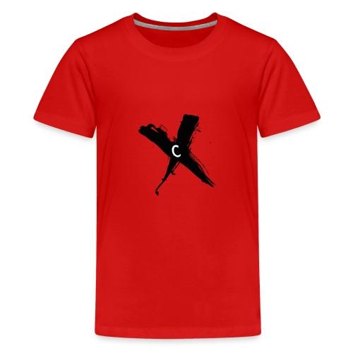Cinnox Logo Kreuz - Teenager Premium T-Shirt
