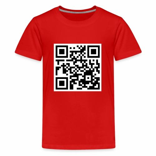 qrcode - Teenager Premium T-Shirt