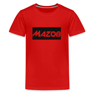 Mazob_Shirt_Design - Teenage Premium T-Shirt