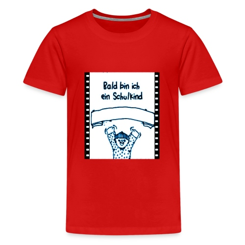 Schulanfang - Teenager Premium T-Shirt
