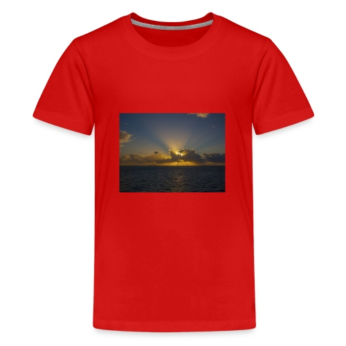 SUNSET - Camiseta premium adolescente